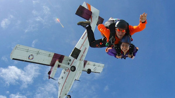 Skydive for Team HUK