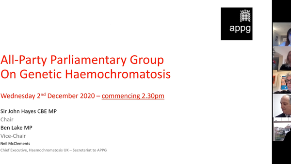 APPG - Wednesday 2nd December 2020 Minutes